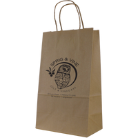 Kraft Paper 2 Bottle Tote Thumb
