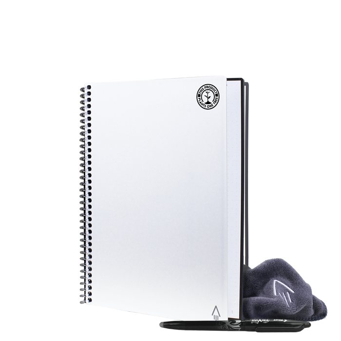 White #OneTreePlanted Rocketbook Core Executive (Everlast)