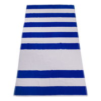 Royal Horizon Striped Beach Towel Thumb