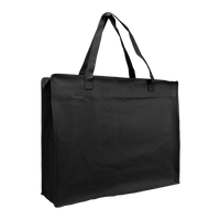 Black Zip-Up Convention Tote Plus Thumb