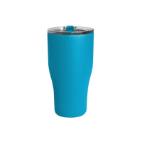 Matte Aqua Large Stainless Steel Insulated Tumbler Thumb