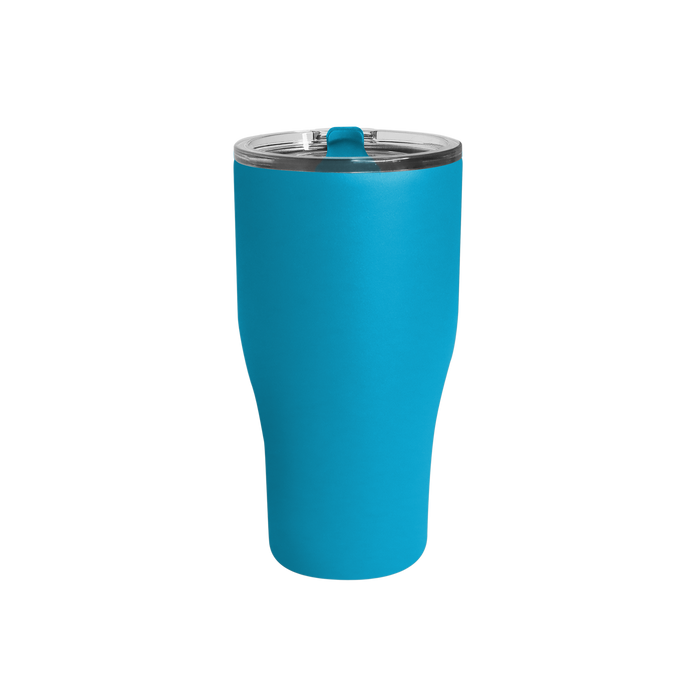Matte Aqua Large Stainless Steel Insulated Tumbler