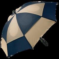 Navy/Tan Gemini Umbrella Thumb