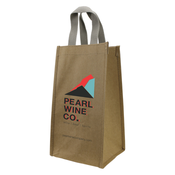Washable Paper Wine Tote