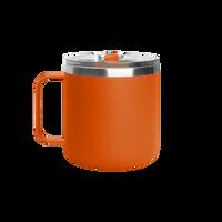 Matte Orange Stainless Steel Insulated Camper Mug Thumb