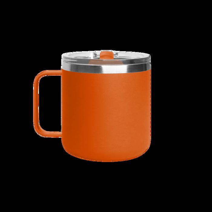 Matte Orange Stainless Steel Insulated Camper Mug