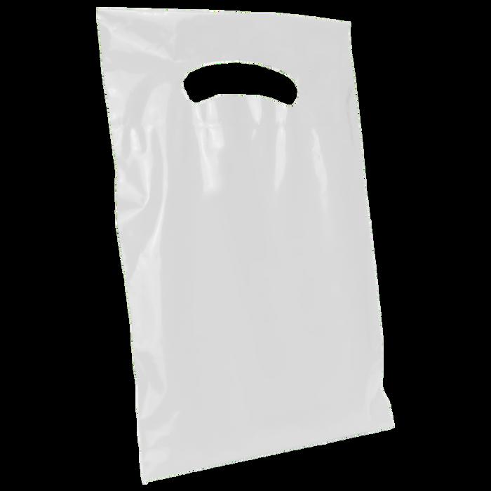 White Extra Small Eco-friendly Die Cut Plastic bag