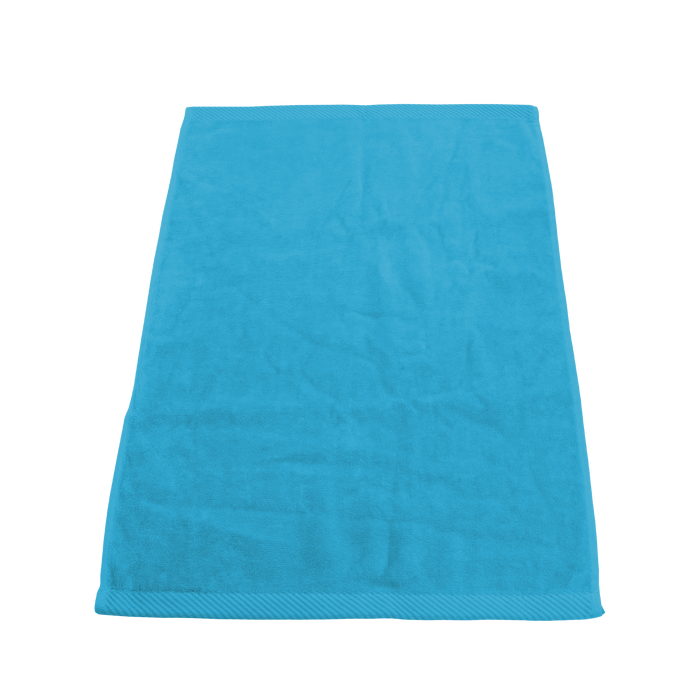 Turquoise Ultraweight Colored Fitness Towel