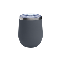 Matte Storm Vacuum Insulated Stemless Wine Tumbler Thumb