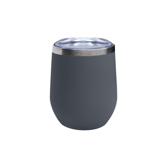 Matte Storm Vacuum Insulated Stemless Wine Tumbler