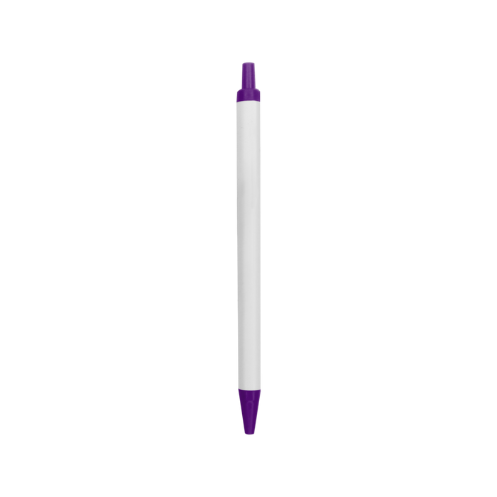 Purple with Black Ink Value Line Pen