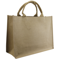 Natural Paper Washable Paper Convention Tote Bag Thumb