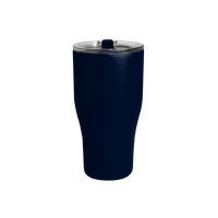 Matte Navy Large Stainless Steel Insulated Tumbler Thumb