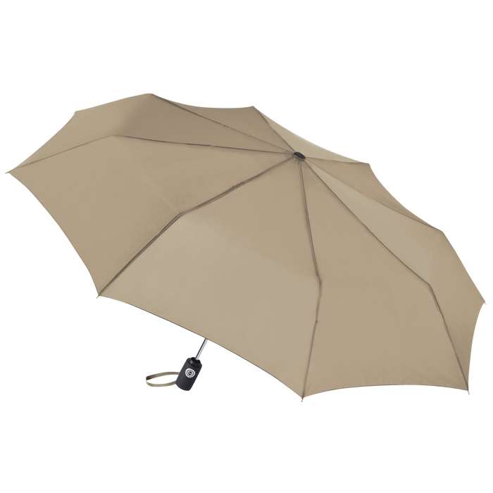 Tan Aquarius totes® Umbrella