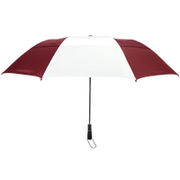 Burgundy/White Mercury Umbrella Thumb