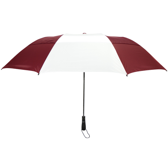 Burgundy/White Mercury Umbrella
