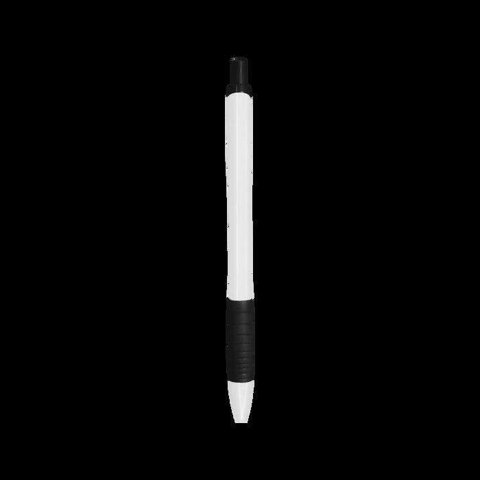 Black with Blue Ink Soft Grip Pen