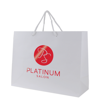 Medium Glossy Shopper Bag