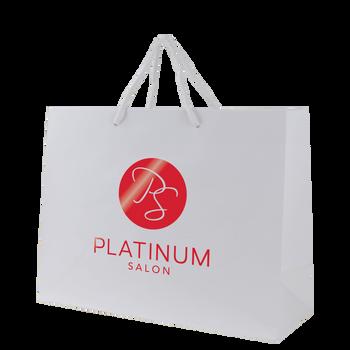 Medium Glossy Shopper Bag