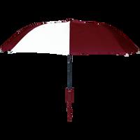 Burgundy/White Polaris Umbrella Thumb