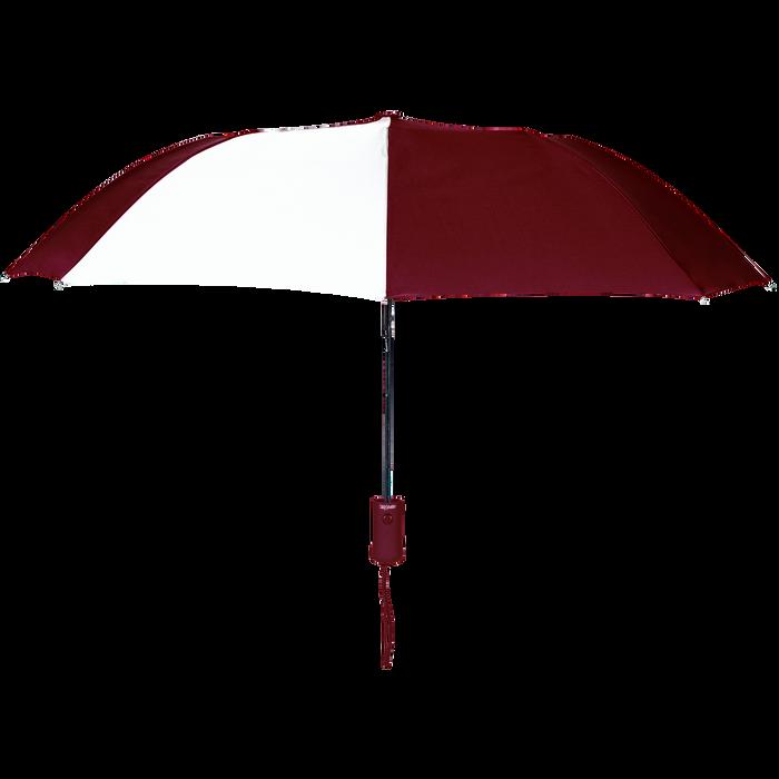 Burgundy/White Polaris Umbrella