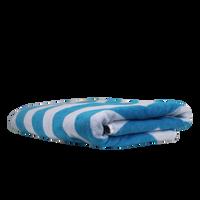 Horizon Chevron Striped Beach Towel Thumb