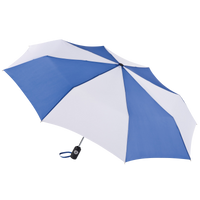 Royal/White Aquarius totes® Umbrella Thumb
