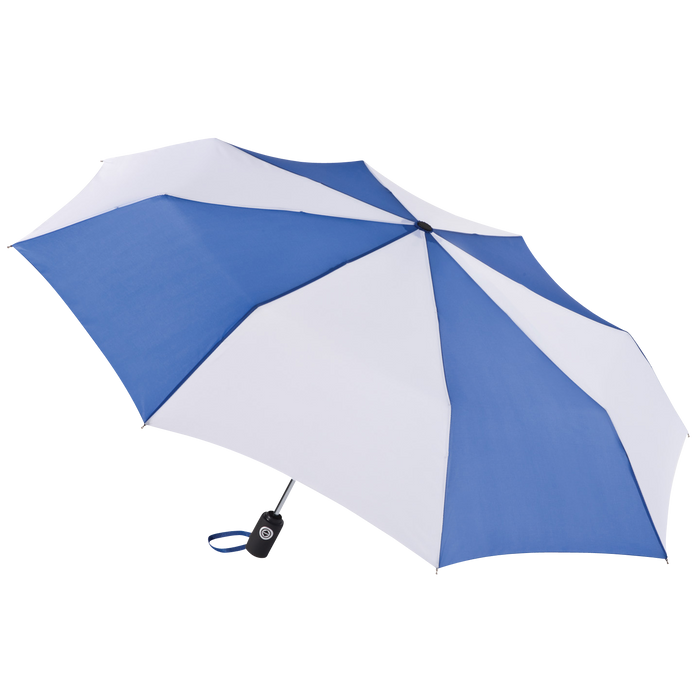 Royal/White Aquarius totes® Umbrella