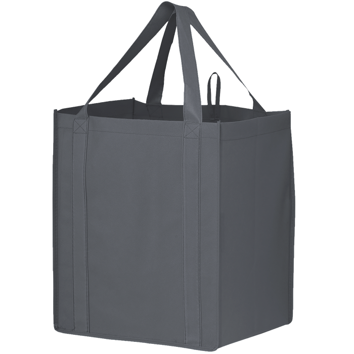 Gray Big Storm Grocery Bag