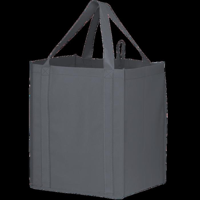 Gray Big Storm Grocery Bag