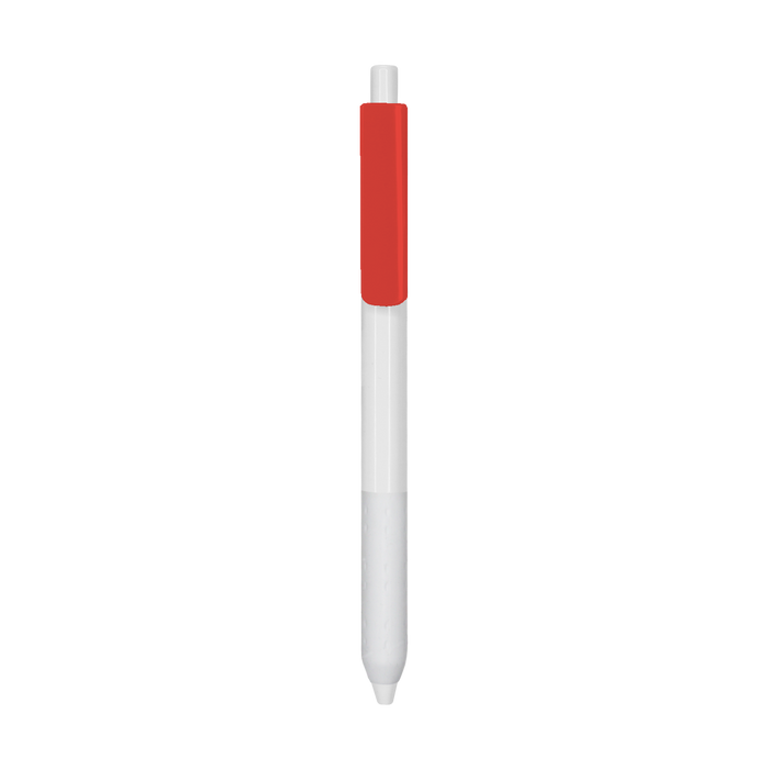 Red with Blue Ink Antibacterial Pen