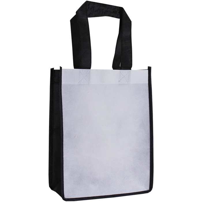White Full Color Fiesta Tote