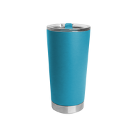 Neon Blue Small Stainless Steel Insulated Tumbler Thumb