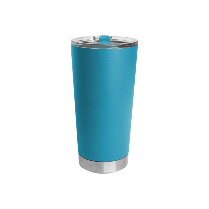 Neon Blue Small Stainless Steel Insulated Tumbler