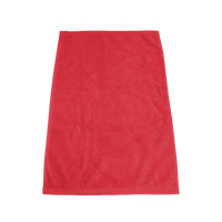 Red Ultraweight Colored Fitness Towel Thumb