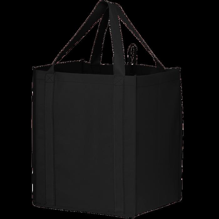 Black Big Storm Grocery Bag