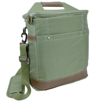 Green Tall Urban Utility Cooler Tote Thumb