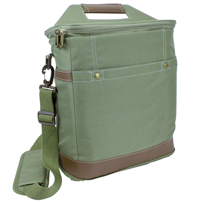 Green Tall Urban Utility Cooler Tote