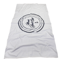 Heavy Weight American Made White Beach Towel Thumb