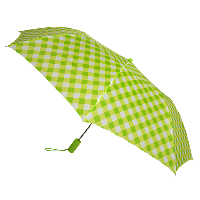 Green/Yellow Plaid Andromeda Umbrella