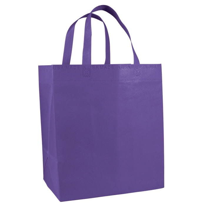 Purple American Made Grocery Bag