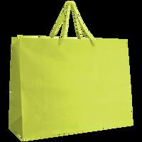 Lime Large Matte Shopper Bag Thumb