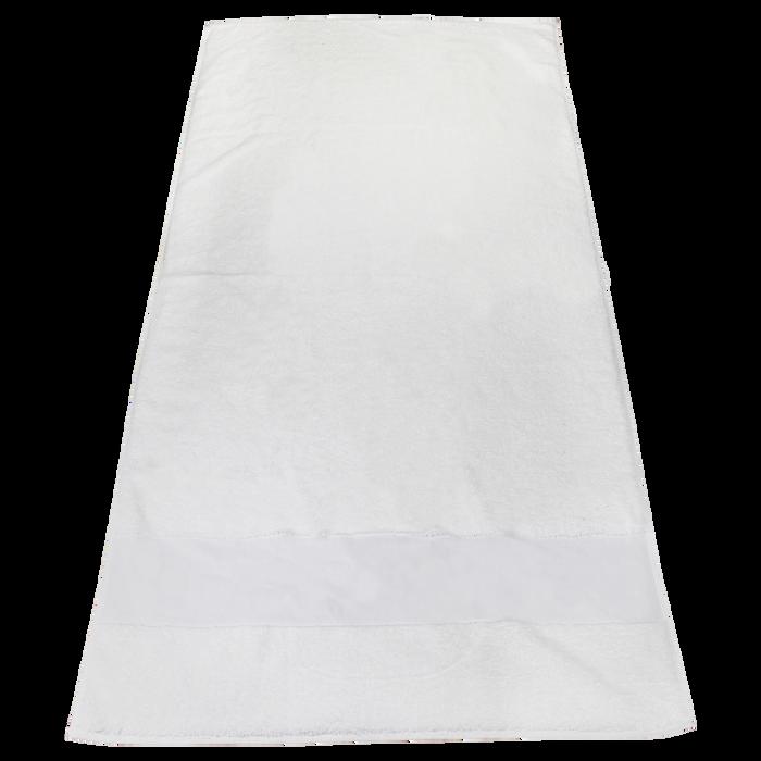 White High Tide White Beach Towel