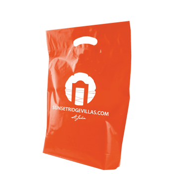 Medium Die Cut Plastic Bag