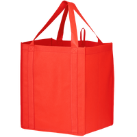 Red Big Storm Grocery Bag Thumb