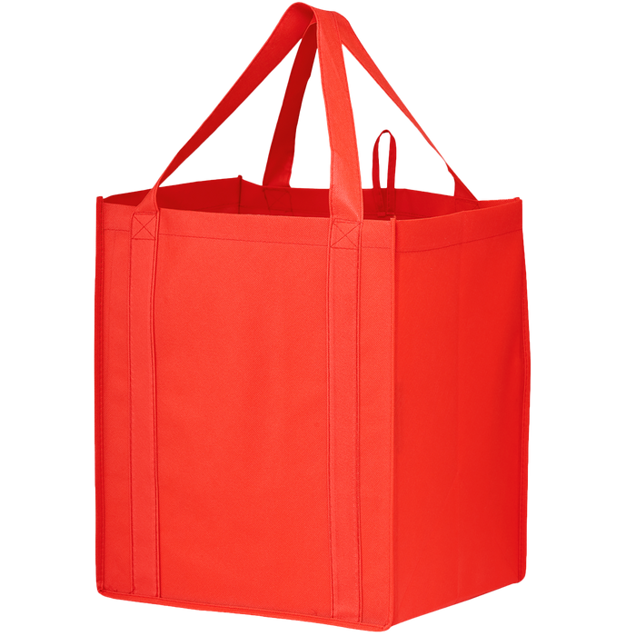 Red Big Storm Grocery Bag
