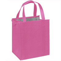 Pink Large Insulated Cooler Tote Thumb