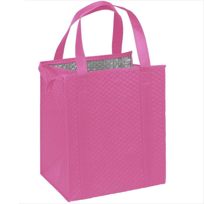 Pink Large Insulated Cooler Tote