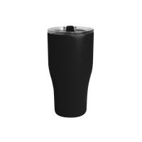 Matte Black Large Stainless Steel Insulated Tumbler Thumb