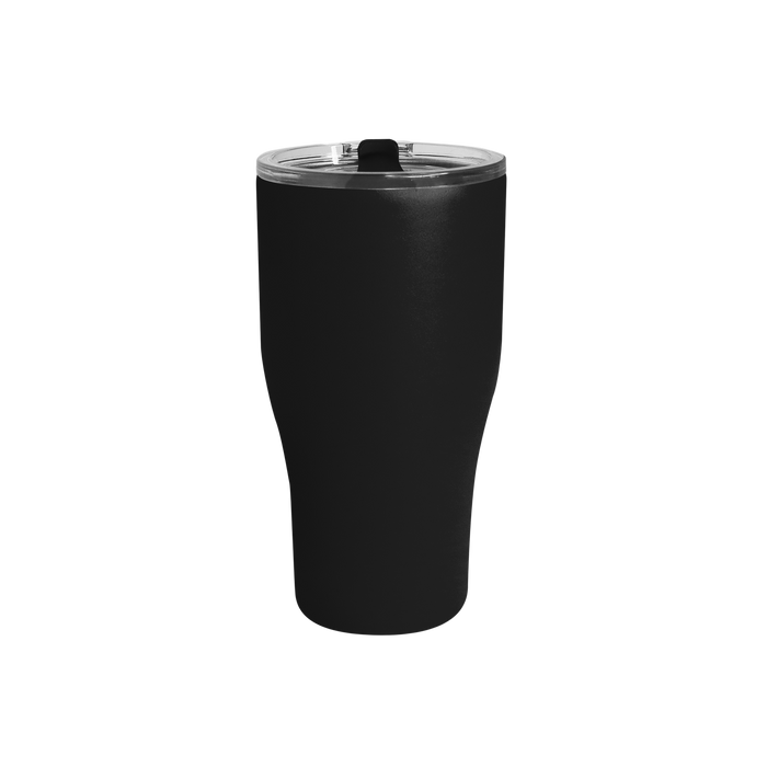 Matte Black Large Stainless Steel Insulated Tumbler